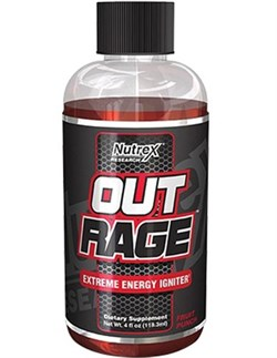 NUTREX OutRage Extreme Energy Shot 118 мл. - фото 4615
