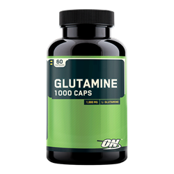 OPTION NUTRITION Glutamine 1000 mg, 60 caps. - фото 4663