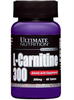 Ultimate Nutrition L-Carnitine 300 mg, 60 tab. - фото 4894
