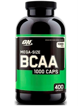 OPTION NUTRITION BCAA 1000, 400 caps. - фото 4915