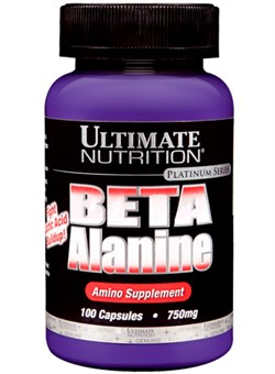 ULTIMATE Beta Alanine 750 mg - фото 4924
