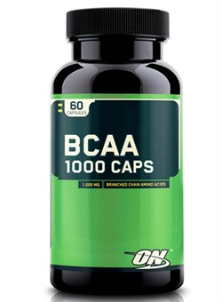OPTION NUTRITION BCAA 1000, 60 caps. - фото 4955