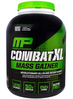 Musclepharm Combat XL Mass Gainer Powder-2,7 кг. - фото 4980
