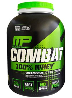 MusclePharm, Combat 100% Whey Protein 2,3 кг. - фото 4993