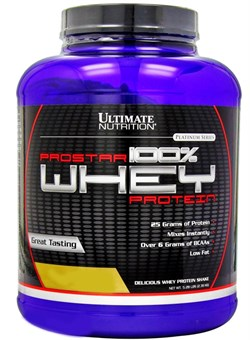 Ultimate Nutrition Prostar Whey  2,4 кг. - фото 5029