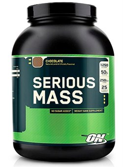 Optimum Nutrition Serious Mass 2,7 кг. - фото 5032