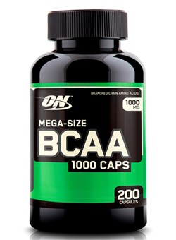 OPTIMUM NUTRION   BCAA 1000 200 капс. - фото 5036