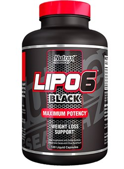 NUTREX Lipo 6 Black 120 капс. - фото 5038