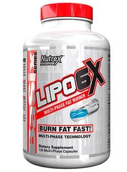 NUTREX Lipo 6X, 120 liquid caps. - фото 5040