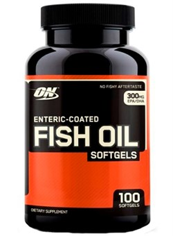 OPTIMUM NUTRTION	Fish Oil  1000 mg,   100 softgel. - фото 5046