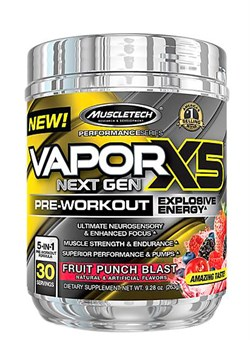 Muscle Tech Vapor X5  Next Gen,270 гр. - фото 5122