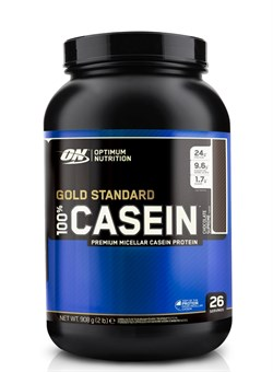 Optimum Nutrition  100% Casein Protein,  0,9 кг. - фото 5140