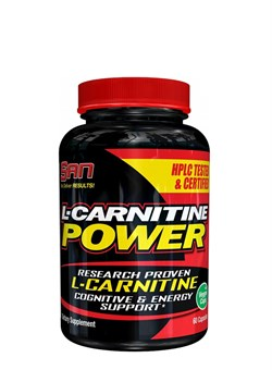 SAN	L-Carnitine Power,  60 caps. - фото 5234