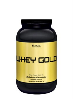 ULTIMATE Whey Gold,  0,9 кг. - фото 5248