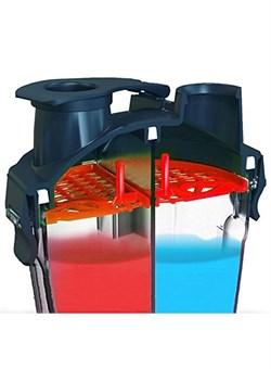 Шейкер HYDRO CUP, 350 + 350 ML. - фото 5266