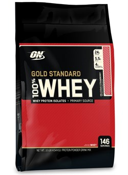 Optimum Nutrition 100% Gold Standard Whey 4,54 кг. - фото 5348
