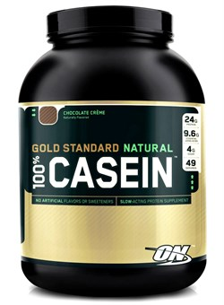 OPTIMUM NUTRITION 100% Natural Casein Protein   1.8 кг. - фото 5351