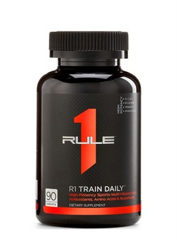 RULE 1	R1 Train Daily Sports Multi-Vitamin,  90 tablets - фото 5365