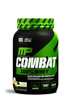 MusclePharm, Combat 100% Whey Protein 0,9 кг. - фото 5412