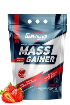 GeneticLab Mass Gainer 3000 гр. - фото 5469