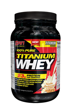 SAN 100% Pure Titanium Whey 0,9 кг. - фото 5507