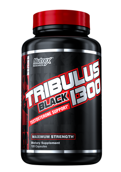 Nutrex Research, Tribulus Black 1300, 120 Capsules - фото 5610