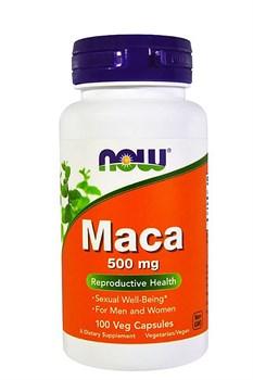 Now Foods, Мака, 500 мг, 100 растительных Caps. - фото 5643