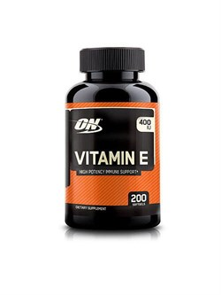 OPTIMUM NUTRITION Vitamin E 400 IU 200 Capsul - фото 5644