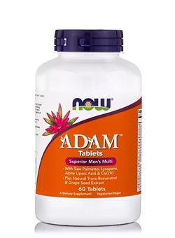 NOW ADAM Male Multi, 60 tab. - фото 5689