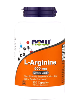 NOWArginine 500 mg, 100 caps. - фото 5694