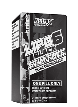 LIPO 6 BLACK ULTRA CONCENTRATED STIM FREE 60 капс. - фото 5697