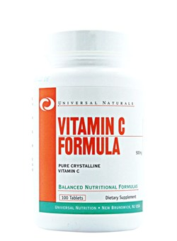 UNIVERSAL Vitamin C,   100 tab. - фото 5710