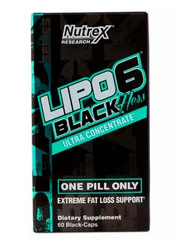 Lipo 6 Black Hers, Ultra Concentrated, 60 капс. - фото 5758