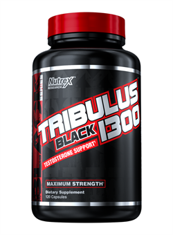 NUTREX	Tribulus Black 1300,   120 caps. - фото 5803