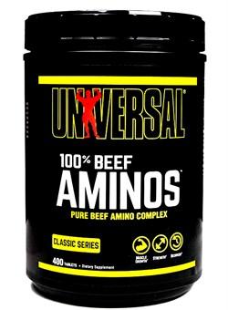 UNIVERSAL 100% Beef Aminos, 400 Таб. - фото 5805