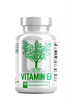UNIVERSAL Vitamin E,   90 softgels. - фото 5811