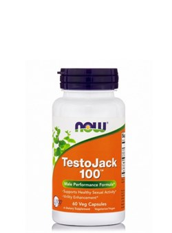 NOW Testo Jack 100,  60 caps. - фото 5813