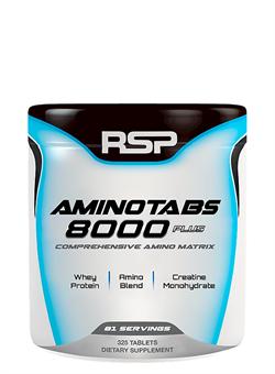 R S P Amino Tabs 8000 Plus,  325 tab. - фото 5821