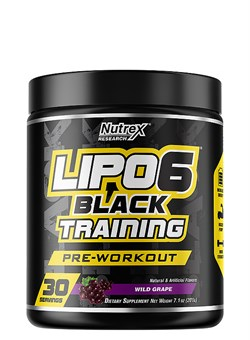 NUTREX	Lipo 6 Black TRAINING, 195 gr. - фото 5826