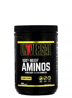 UNIVERSAL 100% Beef Aminos, 200 Табл. - фото 5832