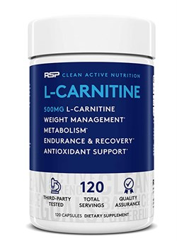 R S P L-Carnitine,  120 caps. - фото 5833