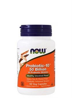 NOW Probiotic-10™ 25 Billion, 50 капс. - фото 5891