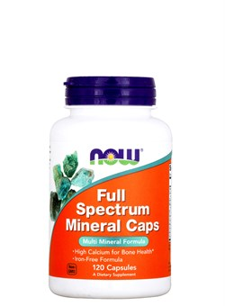 NOW Full Spectrum Mineral,  120капс. - фото 5898