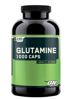 Optimum Nutrition Glutamine 1000 mg. 240 caps - фото 5919