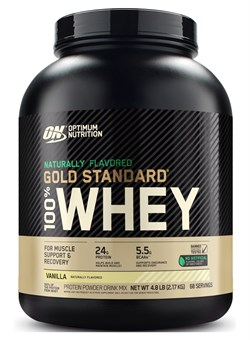 OPTIMUM NUTRTION100% NATURAL Whey  Gold Standard, Gluten Free  2.3 кг. - фото 5923