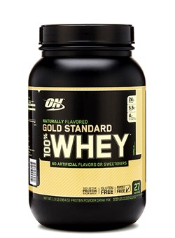 OPTIMUM NUTRTION100% NATURAL Whey  Gold Standard, Gluten Free  0.9 кг. - фото 5925