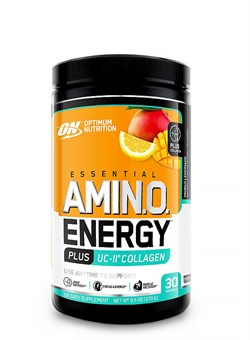 OPTIMUM NUTRTIONAmino Energy + UC-II  Collagen,  270 гр. - фото 5926