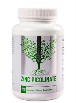 UNIVERSAL Zinc Picolinate,   120 caps. - фото 5940