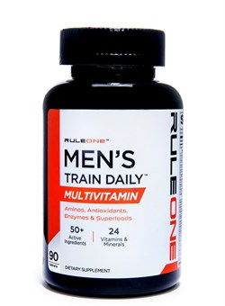 RULE 1 R1 Men's Train Daily Sports Multi-Vitamin 90 Табл. - фото 5946