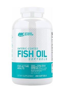 OPTIMUM NUTRTIONFish Oil  1000 mg,   200 softgel. - фото 5959